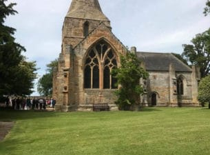 Seton Collegiate Church wedding venue East Lothian Scotland
